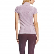 Ariat (Sample) Women's Odyssey Seamless Quarter Zip (Plum Shadow)