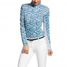 Ariat Women's Sunstopper Quarter Zip Top (Art Deco Print)