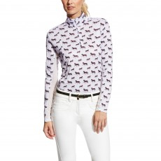 Ariat Women's Sunstopper Quarter Zip Top (Lavender Mist)