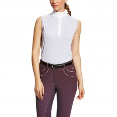 Ariat (Sample) Women's Aptos Vent Sleeveless Shirt (Purple Heather)