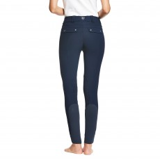 Ariat Women's Tri Factor Grip Knee Patch Breeches (Navy)
