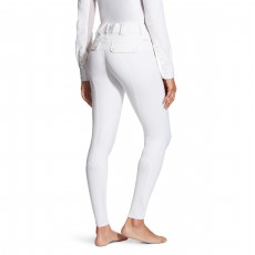 Ariat Women's Tri Factor Grip Knee Patch Breeches (White)