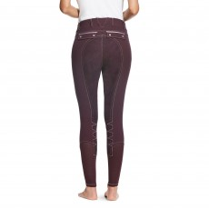 Ariat Women's Olympia Acclaim Full Seat Breeches (Plum Perfect)