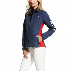 Ariat Women's Team Ideal Windbreaker Jacket (Team Navy)