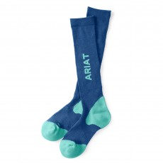 Ariat TEK Performance Socks (Blue/Teal)