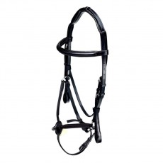 Caldene Grackle Bridle (Black)