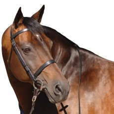 Caldene Plain Bridle (Black)