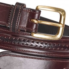 Caldene Alderley Leather Belt (Havana)