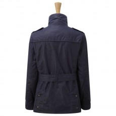 Caldene Figsbury Belted Wax Jacket (Navy)