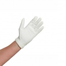 Caldene Competition Riding Gloves (White)
