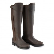 Caldene Women's Buckland Long Boots (Brown)