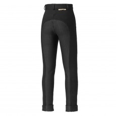 Harry Hall Junior Chester Tex Sticky Bum Breeches (Black)