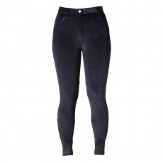 Harry Hall Women's Linthorpe Cord Breeches (Navy)