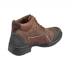 Harry Hall Adults Outland Endurance Boots (Brown)
