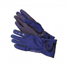 Harry Hall Softshell Riding Gloves (Navy)