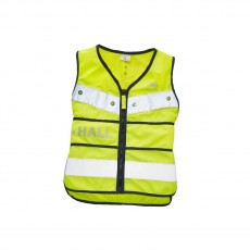 Harry Hall Junior Hi Viz Adjustable Tabard (Yellow)