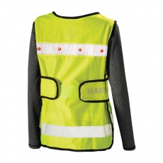 Harry Hall Adults Hi Viz Adjustable Tabard (Yellow)