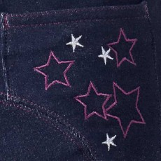 Harry Hall Junior Star Jeggings (Navy)