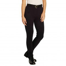 Harry Hall Ladies Chester GVP Tex Jodhpurs (Black)