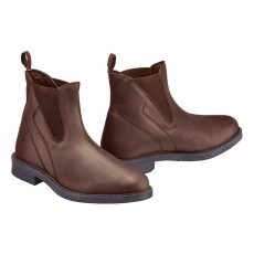 Harry Hall Adults Recife Jodhpur Boots (Brown)