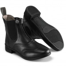 Harry Hall Junior Eston Paddock Boots (Black)