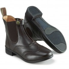 Harry Hall Junior Eston Paddock Boots (Brown)