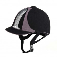 Harry Hall Legend PAS015 Riding Hat (Black/Grey)