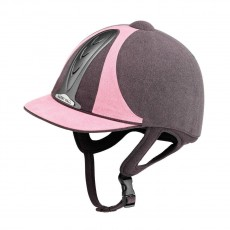 Harry Hall Legend PAS015 Riding Hat (Grey/Pink)