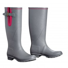 Harry Hall Brinsworth Tex Wellingtons (Grey/Pink)