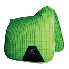 Woof Wear Dressage Saddle Cloth Colour Fusion (Lime)