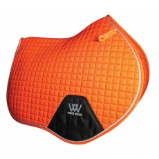 Woof Wear Close Contact Saddle Cloth Colour Fusion (Orange)