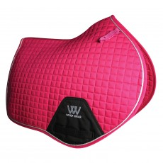 Woof Wear Close Contact Saddle Cloth Colour Fusion (Berry)