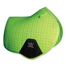 Woof Wear Close Contact Saddle Cloth Colour Fusion (Lime)