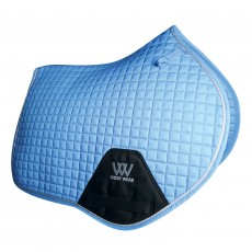 Woof Wear Close Contact Saddle Cloth Colour Fusion (Powder Blue)