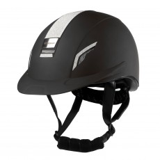 Whitaker VX2 Sparkly Riding Helmet (Black)