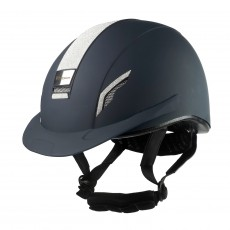 Whitaker VX2 Sparkly Riding Helmet (Navy)