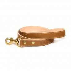 Ralph & Co Siena Leather Dog Lead (Tan)