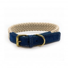 Ralph & Co Flat Rope Dog Collar (Blue)