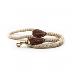 Ralph & Co Braided Rope Dog Lead (Ivory)