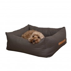 Ralph & Co Stonewashed Fabric Nest Bed (Hammersmith Brown)