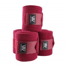 Woof Wear Polo Bandages Set of 4 (Claret)
