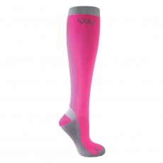 Woof Wear Competition Socks (Pink/Grey)