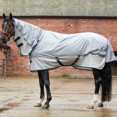 Mark Todd Showerproof Fly Rug Combo (Grey & Silver)