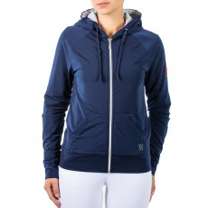 Mark Todd Women's Fleece Lined Hoodie (Navy)
