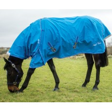 Mark Todd Lightweight Turnout Rug (Royal/White)