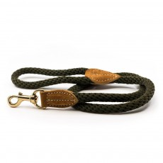 Ralph & Co Braided Rope Dog Lead (Khaki)