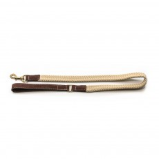 Ralph & Co Flat Rope Dog Lead (Brown)