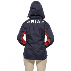 Ariat Women's Team Waterproof Jacket (Navy)