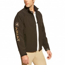 Ariat Men's Team Softshell Jacket (Black)