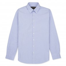 Musto Adults Classic Button Down Oxford Shirt (Pale Blue)